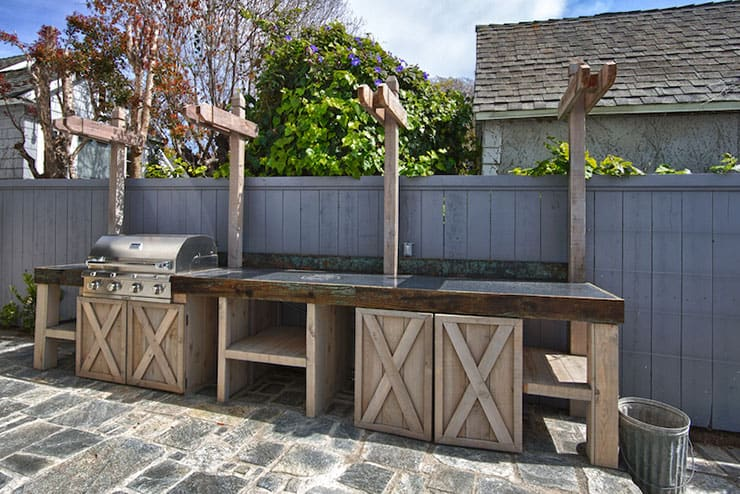 Wooden Outdoor Kitchens ~ Outdoor kitchens bfm specialists